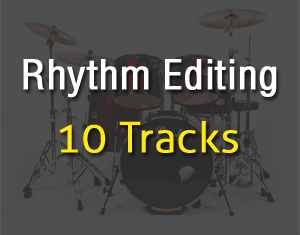 Rhythm Editing 10Tracks