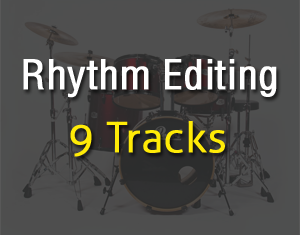 Rhythm Editing 9Tracks